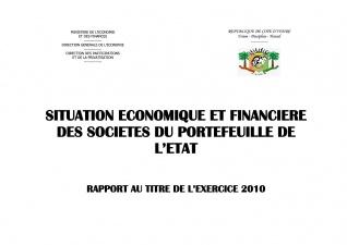 le rapport Economique et Financier  des Entreprises 2010
