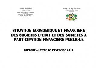 le rapport Economique et Financier  des Entreprises 2011