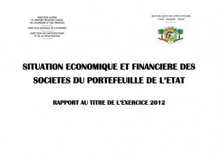 le rapport Economique et Financier  des Entreprises 2012