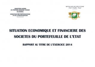 le rapport Economique et Financier  des Entreprises 2014